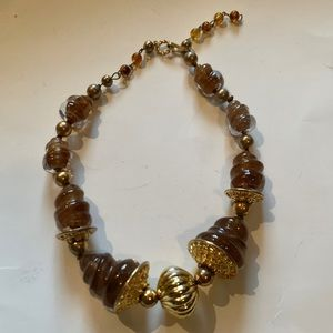 Hand Blown Glass Designer Necklace
